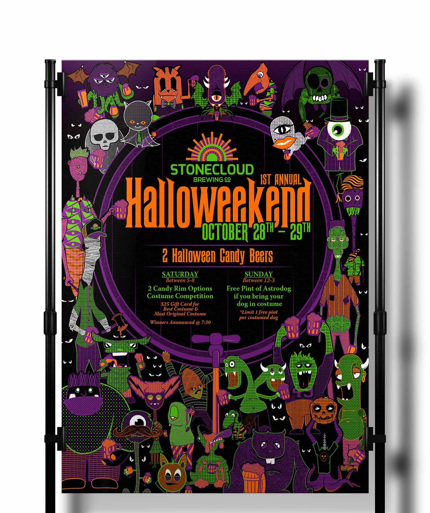 Stonecloud Halloween Poster