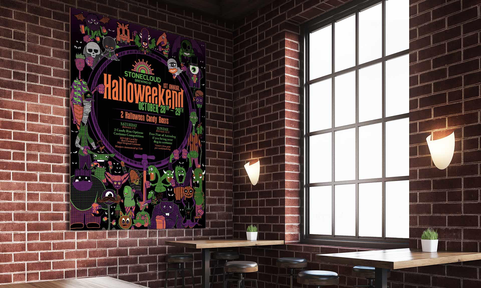 Stonecloud Halloween Poster2